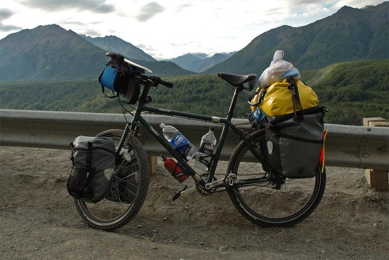 208  Derek - Touring Alaska - Thorn Nomad touring bike