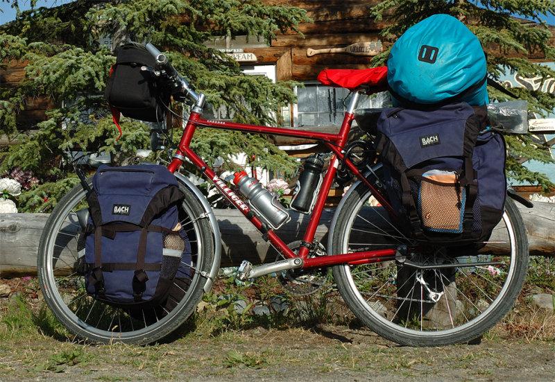 212  David - Touring Alaska - Villiger Cabonga touring bike