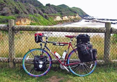 125  Doug - Touring through Oregon - Fuji Touring touring bike