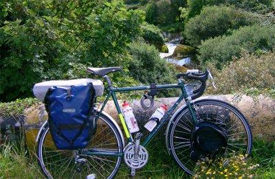136  Phil - Touring Ireland - Dawes Galaxy touring bike
