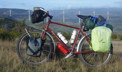 146  Andrew - Touring through France - Robin Mather Touring touring bike