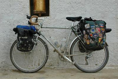 150  Rick - Touring through Tibet - Rivendell Atlantis touring bike