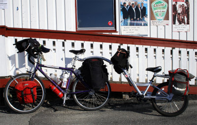 154  Jerry & PJ - Touring Norway - Trek 7000 touring bike