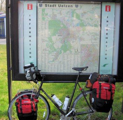 176  Mike - Touring Through Germany - Trek 520 touring bike