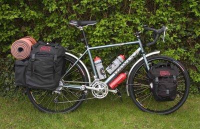 190  Martin - Touring the UK - Dawes Sardar touring bike