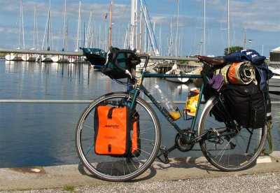 205  Mark - Touring Denmark - Dawes Galaxy touring bike
