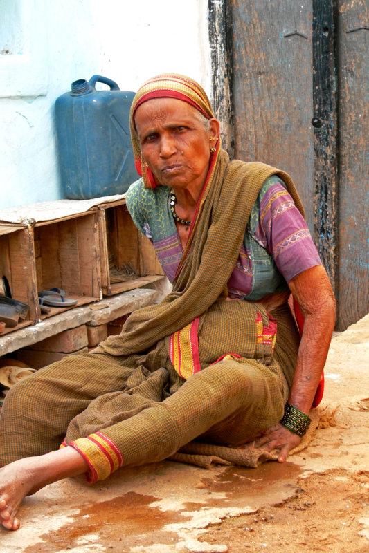 Woman Badami