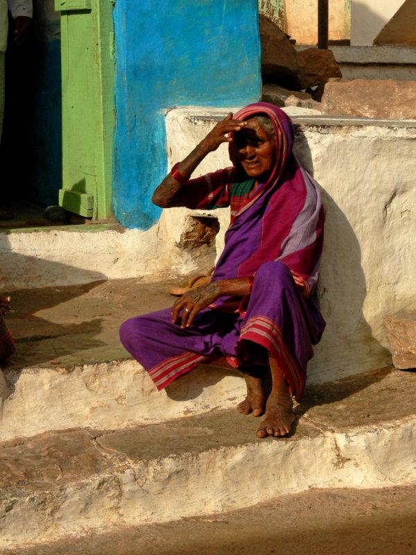 Woman in Badami