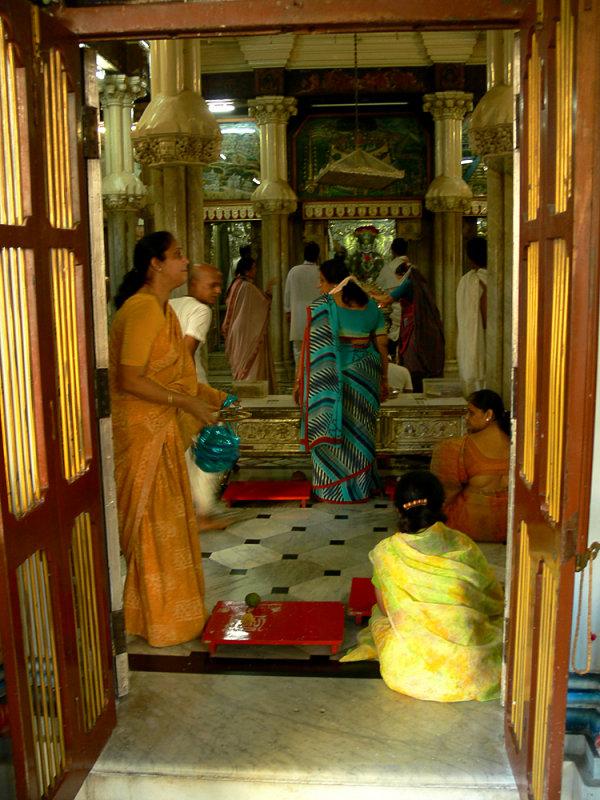 Jain devotees