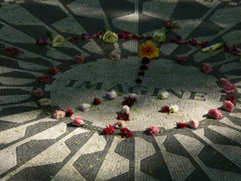 Imagine peace...