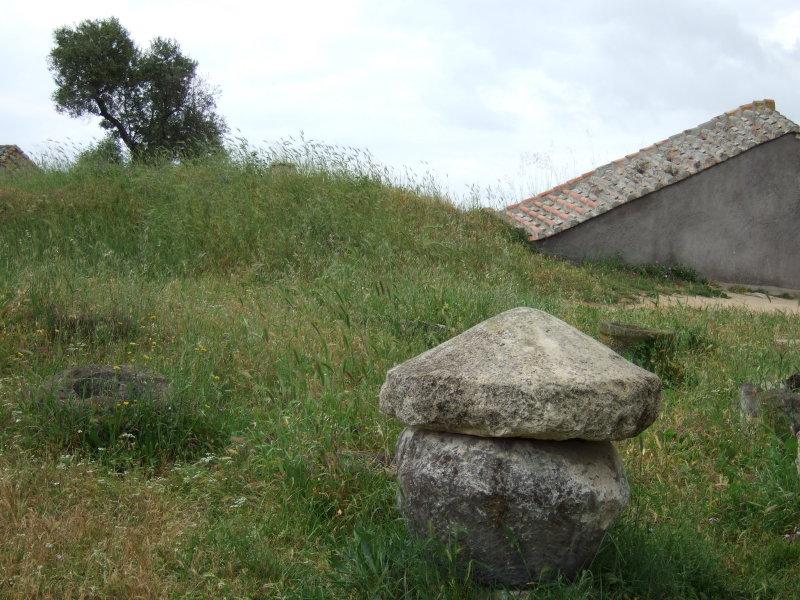 Etruscan Tomb - Tarquinia, Italy