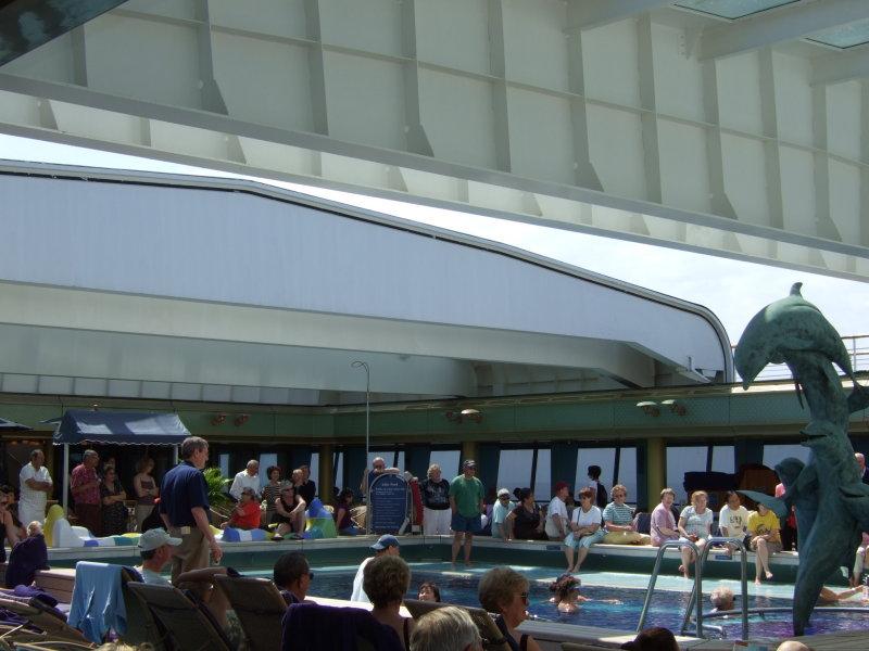 Veendam Lido Pool Area