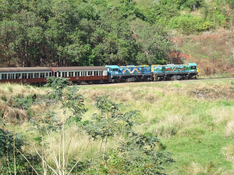 Ride Aboard the Kuranda Scenic Railway