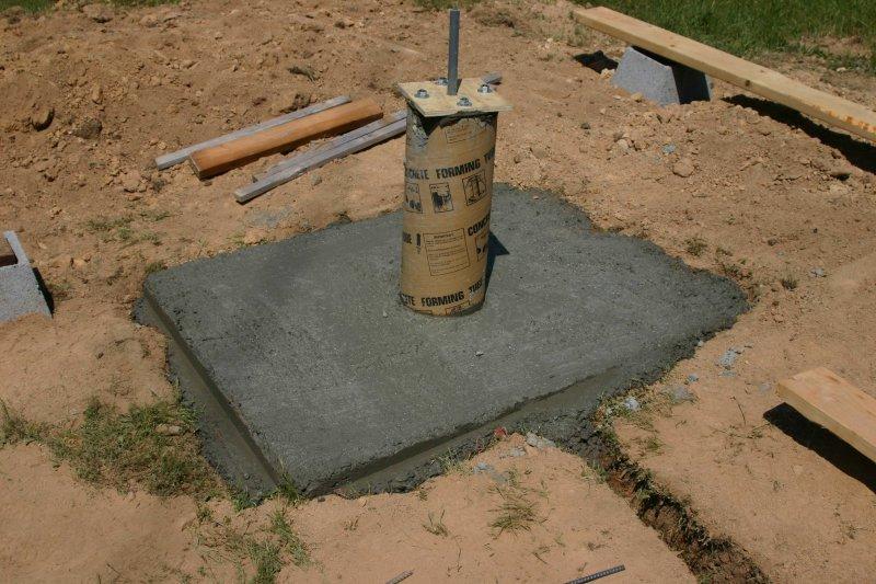1 yard of concrete