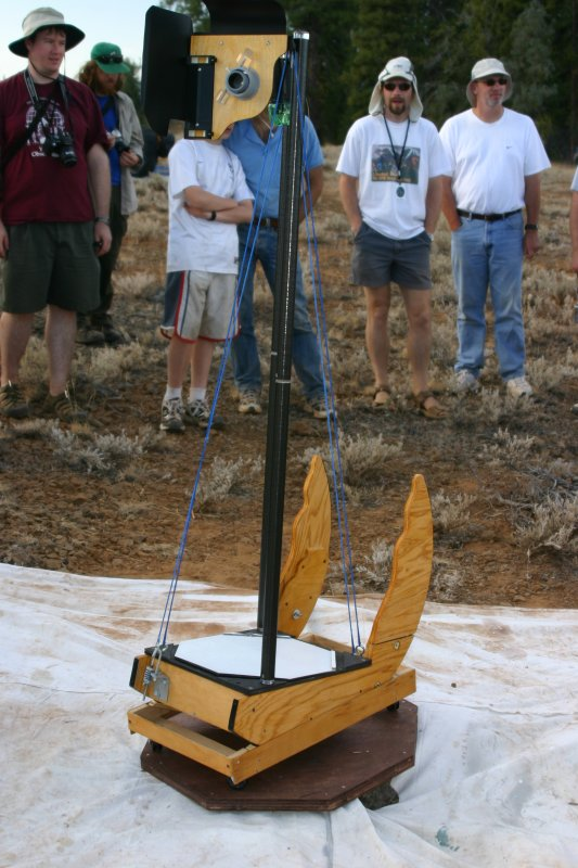 Homemade 2 pole string scope