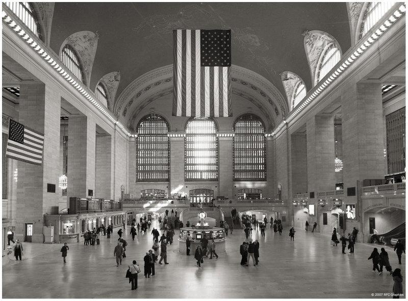 Wallpaper Grand Central Station