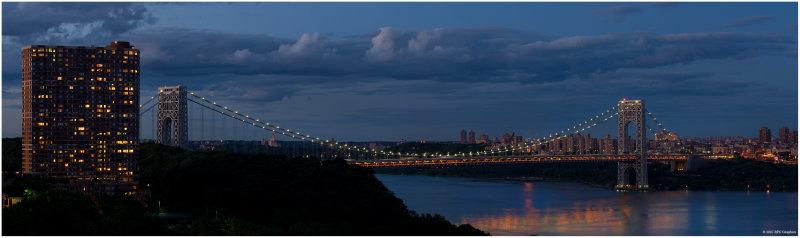 George Washington Bridge July 1