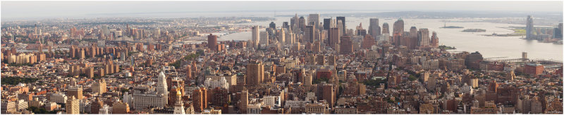 Downtown Manhattan Panorama
