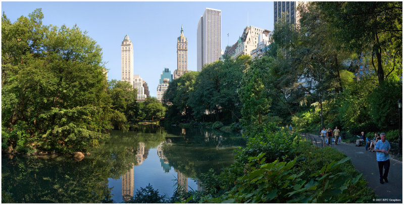 The Pond and 5th Avenue