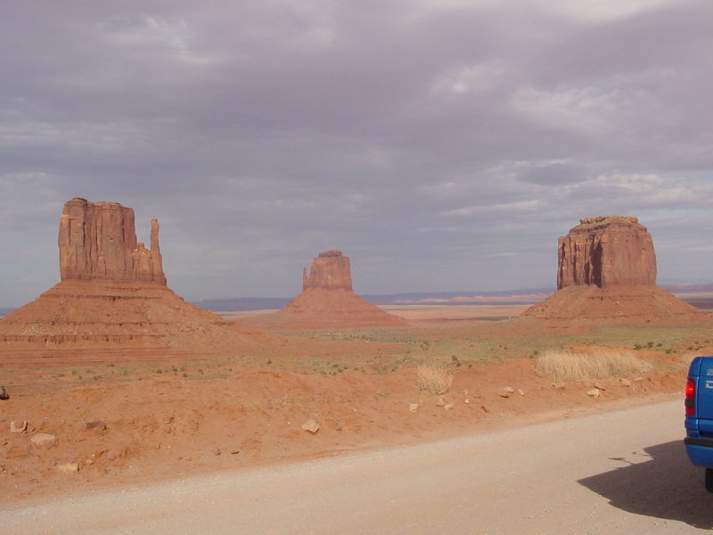 Mittens at Monument Valley