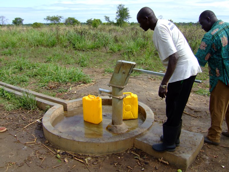 Borehole at a School