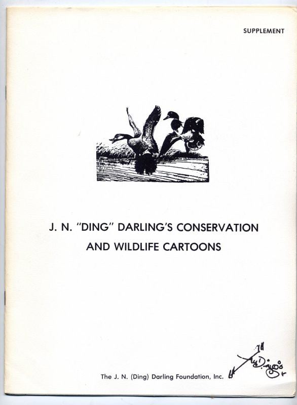 JN Ding Darlings Conservation and Wildlife Cartoons  Supplement (undated)