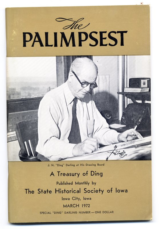 The Palimpsest (March 1972 issue)
