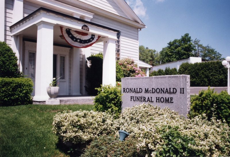 Ronald Mcdonald Ii Funeral Home Kane Pa Photo Christopher