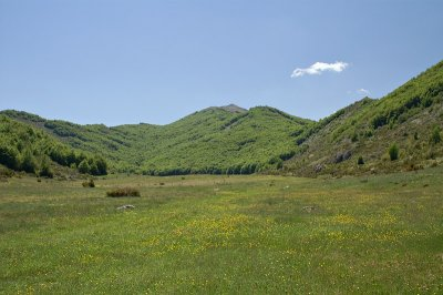 Valley in Galičica