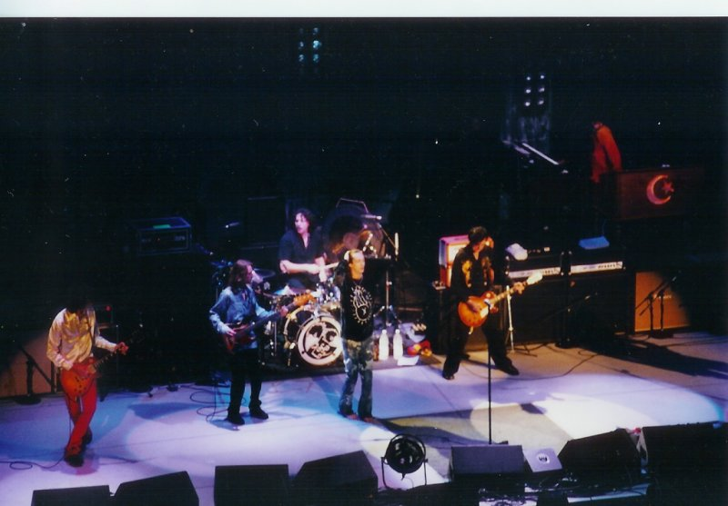 GREG RZAB WITH JIMMY PAGE AND THE BLACK CROWS