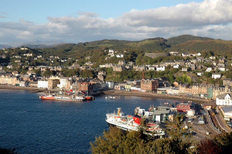 A View From Pulpit Hill - Oban