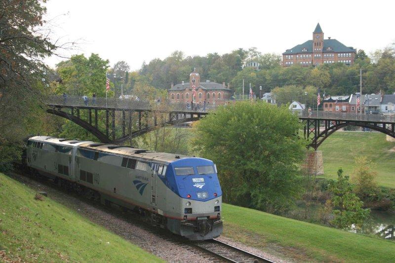 County Fair Days, Amtrak train