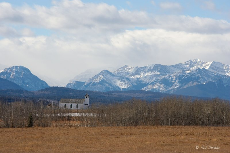 The Mountains from McDougall