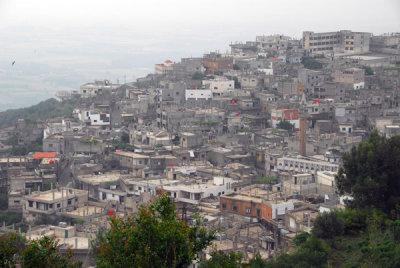 Alawite village below the Krak des Chevaliers