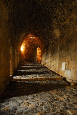 Entrance ramp, Krak des Chevaliers
