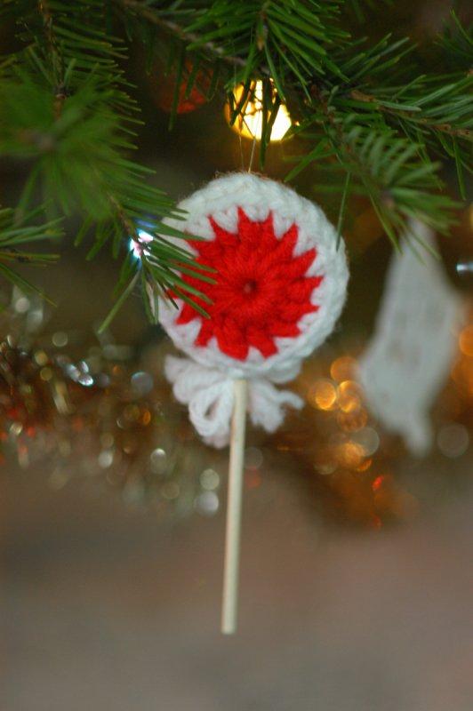 Crocheted Lollipop