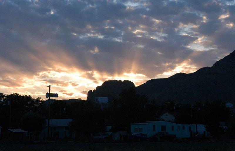 Sunbeams over Wendover