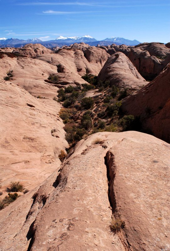 Ornament Rock in the distance