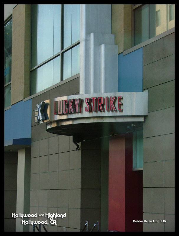 Lucky Strike Bowling Alley
