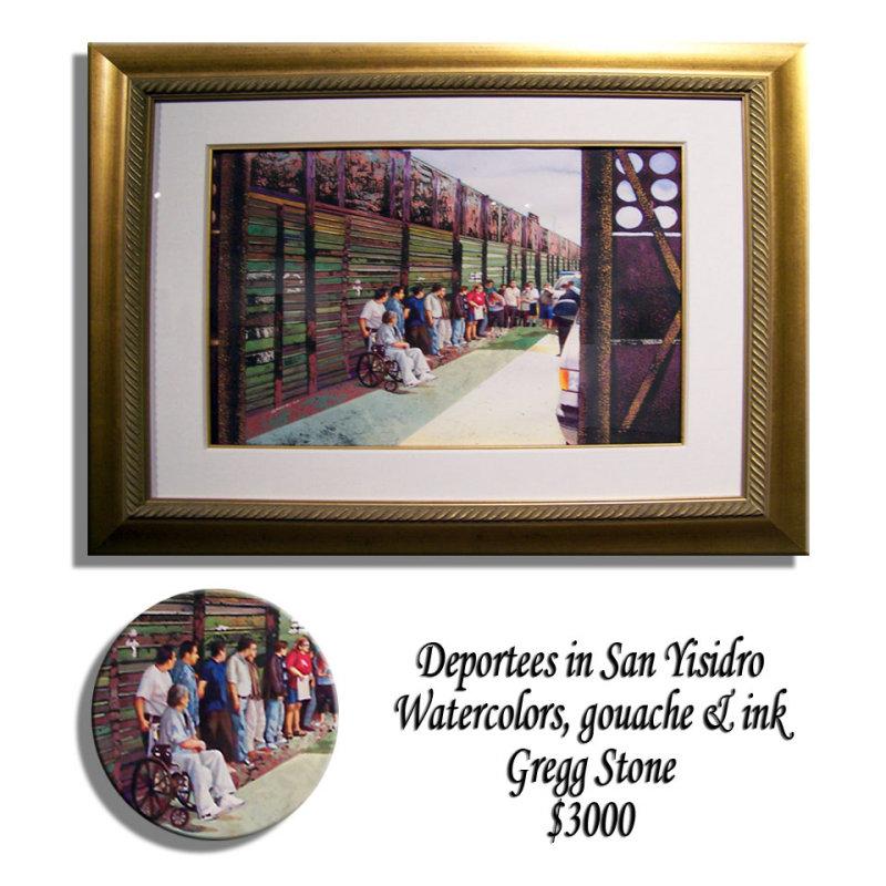 Deportees in San Yisidro