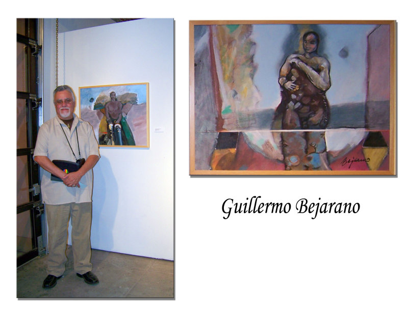 Guillermo and his painting