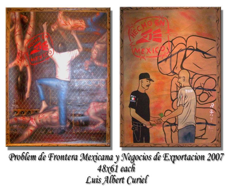 Problem de Frontera Mexicana y Negocios de Exportacion 2007