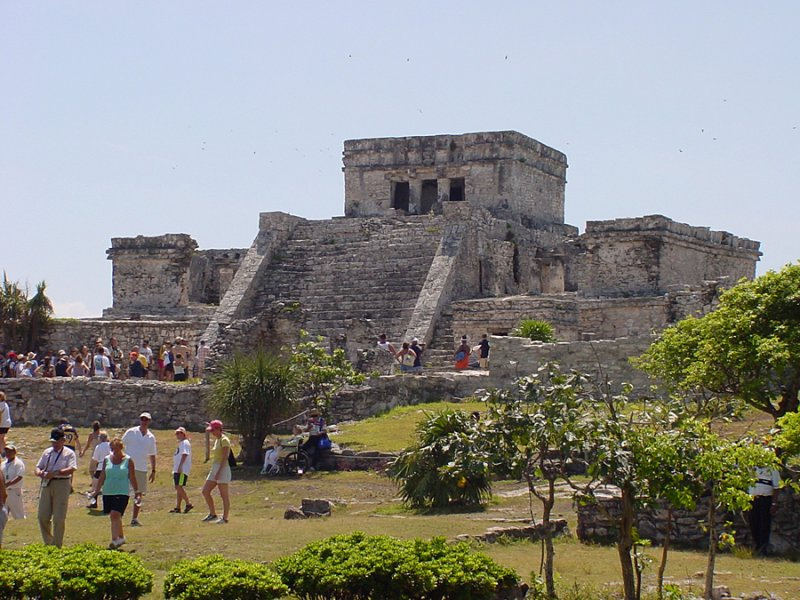 Tulum - Mayan Ruins near  Cozumel, Mexico