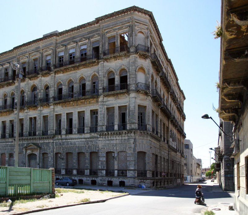 Montevideo Abandoned Govt Buildings in the Old Port