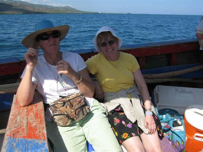 Joan and Nancy