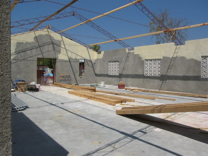 part of the roof goes up