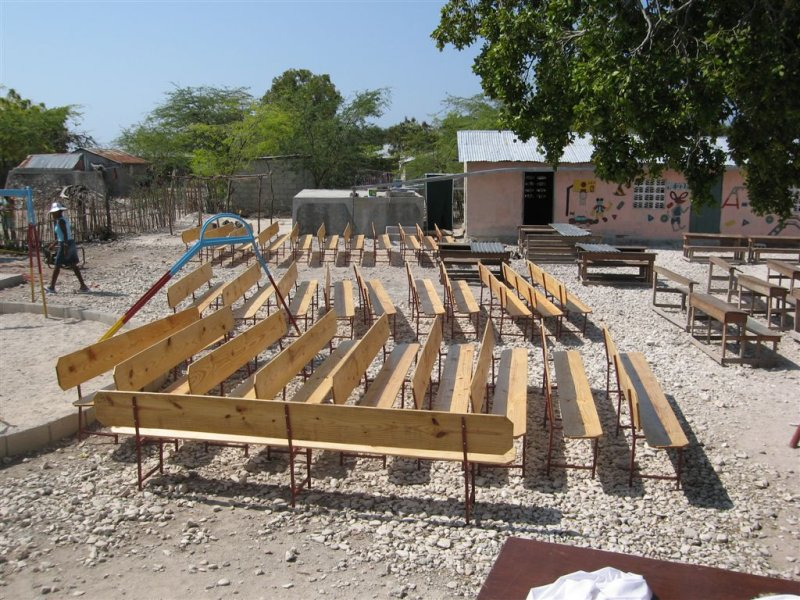 21 benches made