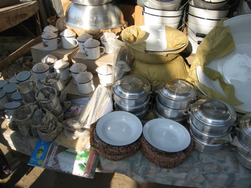 items for sale in the market