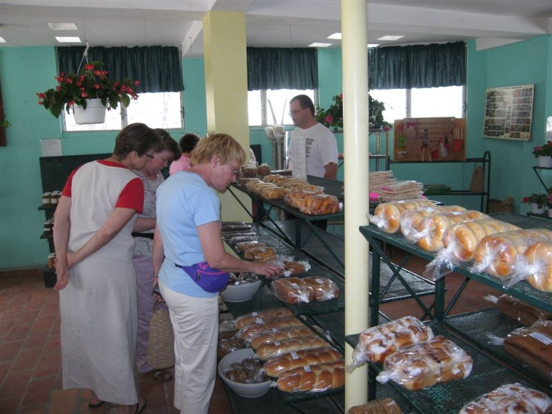 at the Baptist Mission bakery