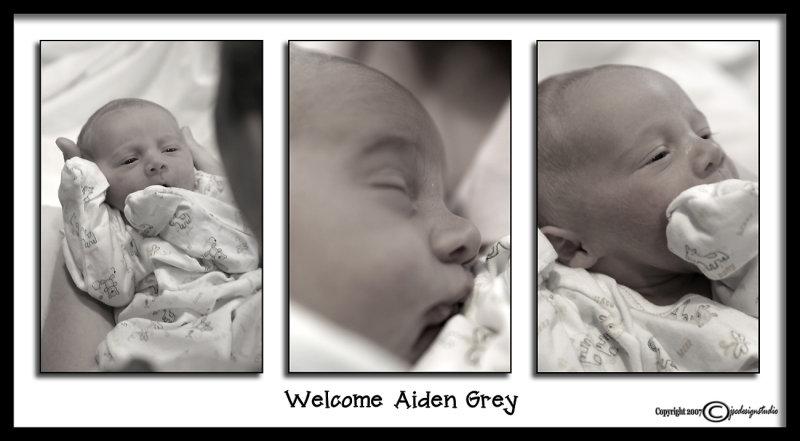Welcome Aiden<p>September 1